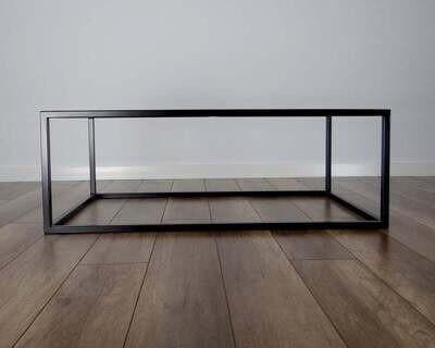 Qbic Steel Coffee Table Base 100x60cm. Large Modern Coffee Table Legs. Metal Coffee Table Legs. Industrial from StaloveStudio