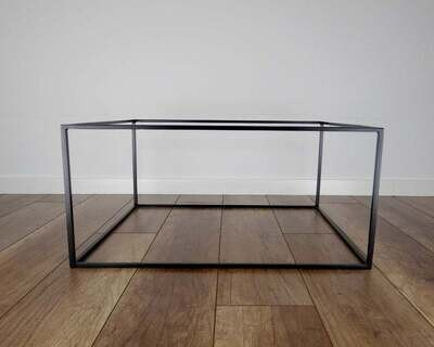 Slim Steel Coffee Table Base 100x60cm. Large Modern Coffee Table Legs. Metal Coffee Table Legs. Industrial from StaloveStudio. [D073]
