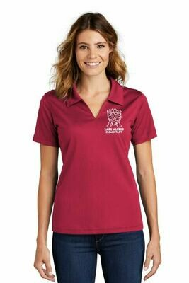 Sport-Tek® Ladies Dri-Mesh® V-Neck Polo