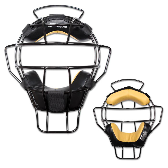 Pro-Plus Aluminum Lightweight Umpire Mask - Bio Fresh