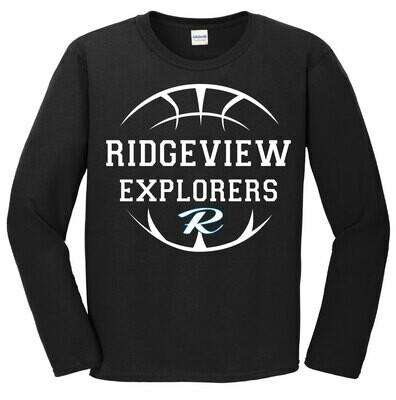 Explorers Basketball Long Sleeve Tee