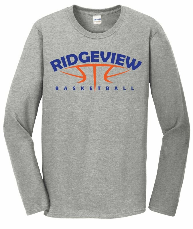 Basketball Softstyle Long Sleeve Tee - 2 Color