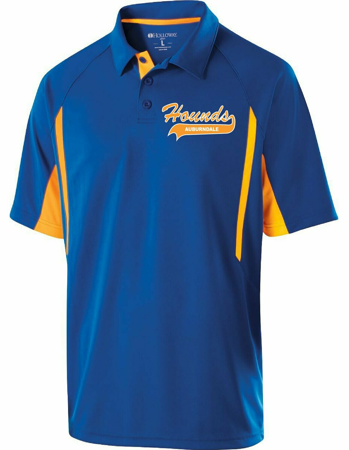 Avenger Mens Polo with Tail Logo