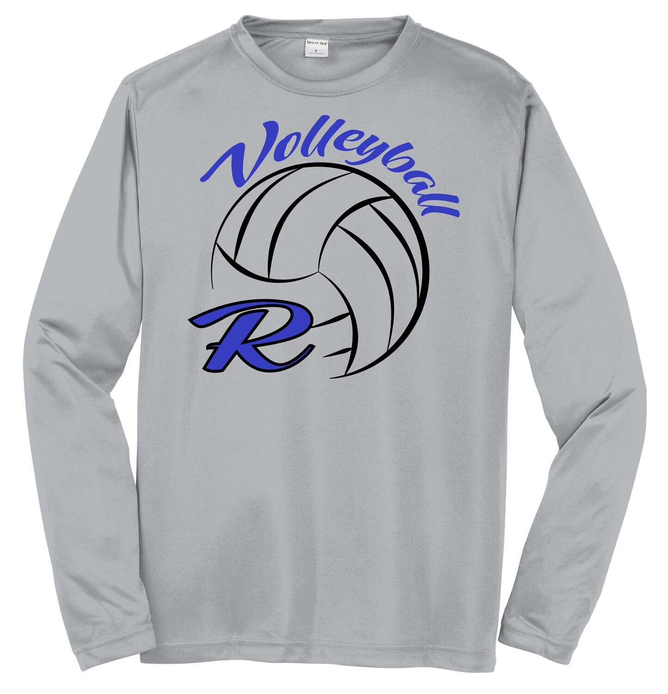 Sport-Tek® PosiCharge® Long Sleeve Competitor™ Tee - R-Volley Logo