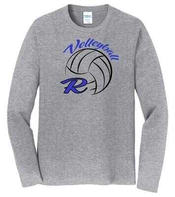 Port & Company® Long Sleeve Fan Favorite™ Tee - R-Volley Logo