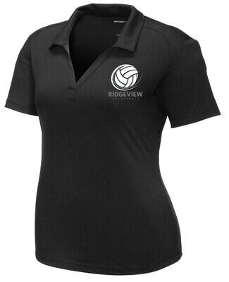 Ladies Sport-Tek ® PosiCharge ® Tri-Blend Wicking Polo