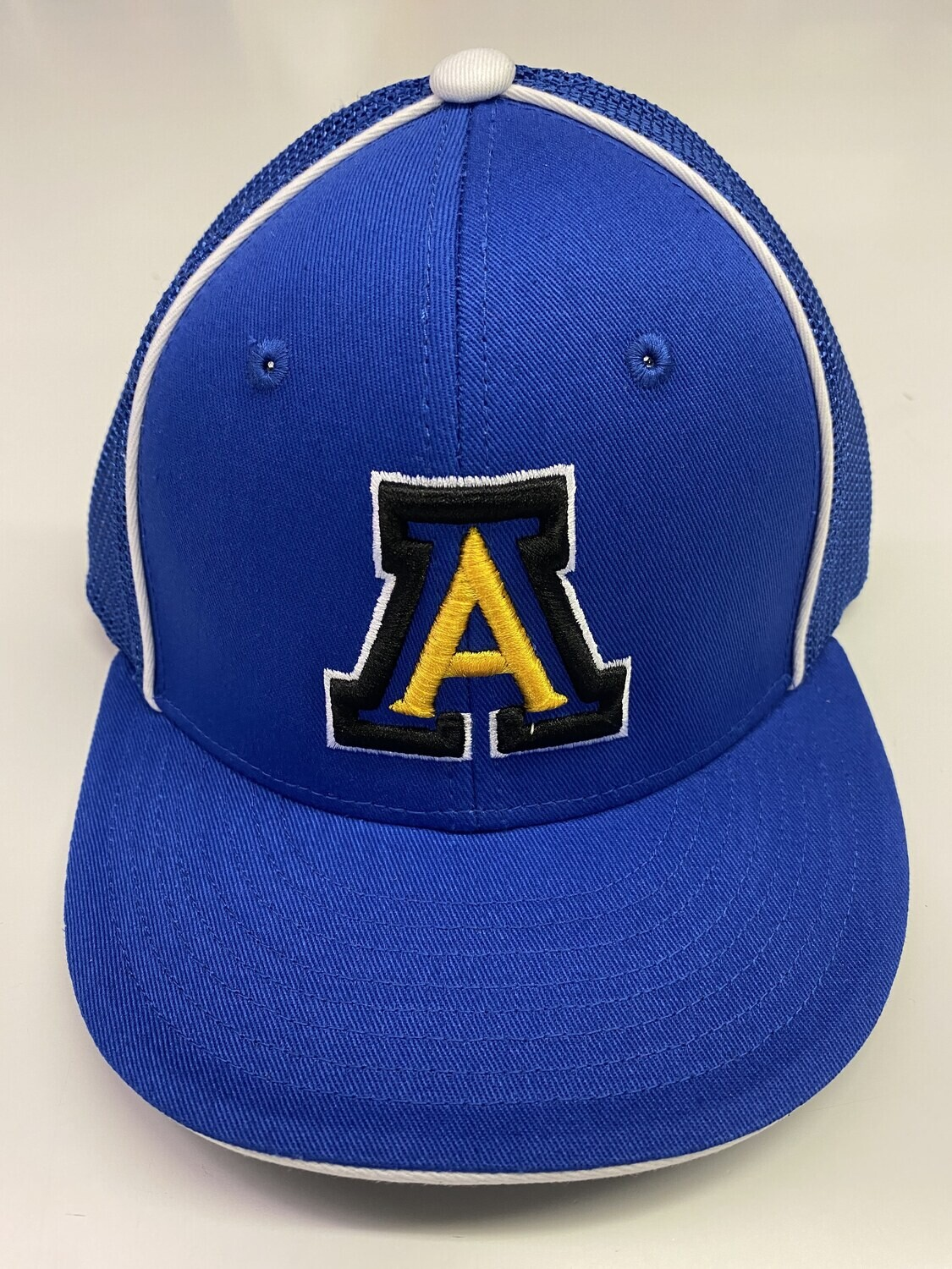 Varsity Fitted Cap - Royal w/ White Pipe