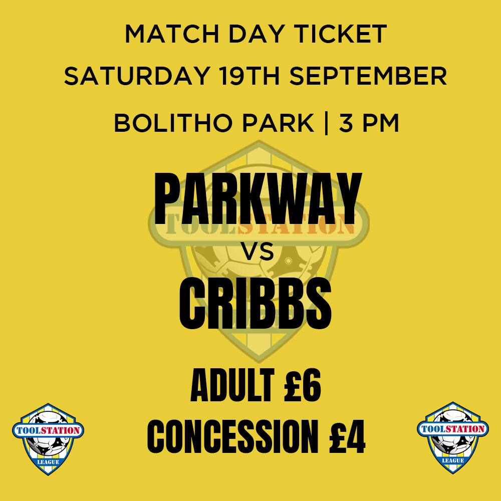 Parkway v Cribbs Match Day Ticket