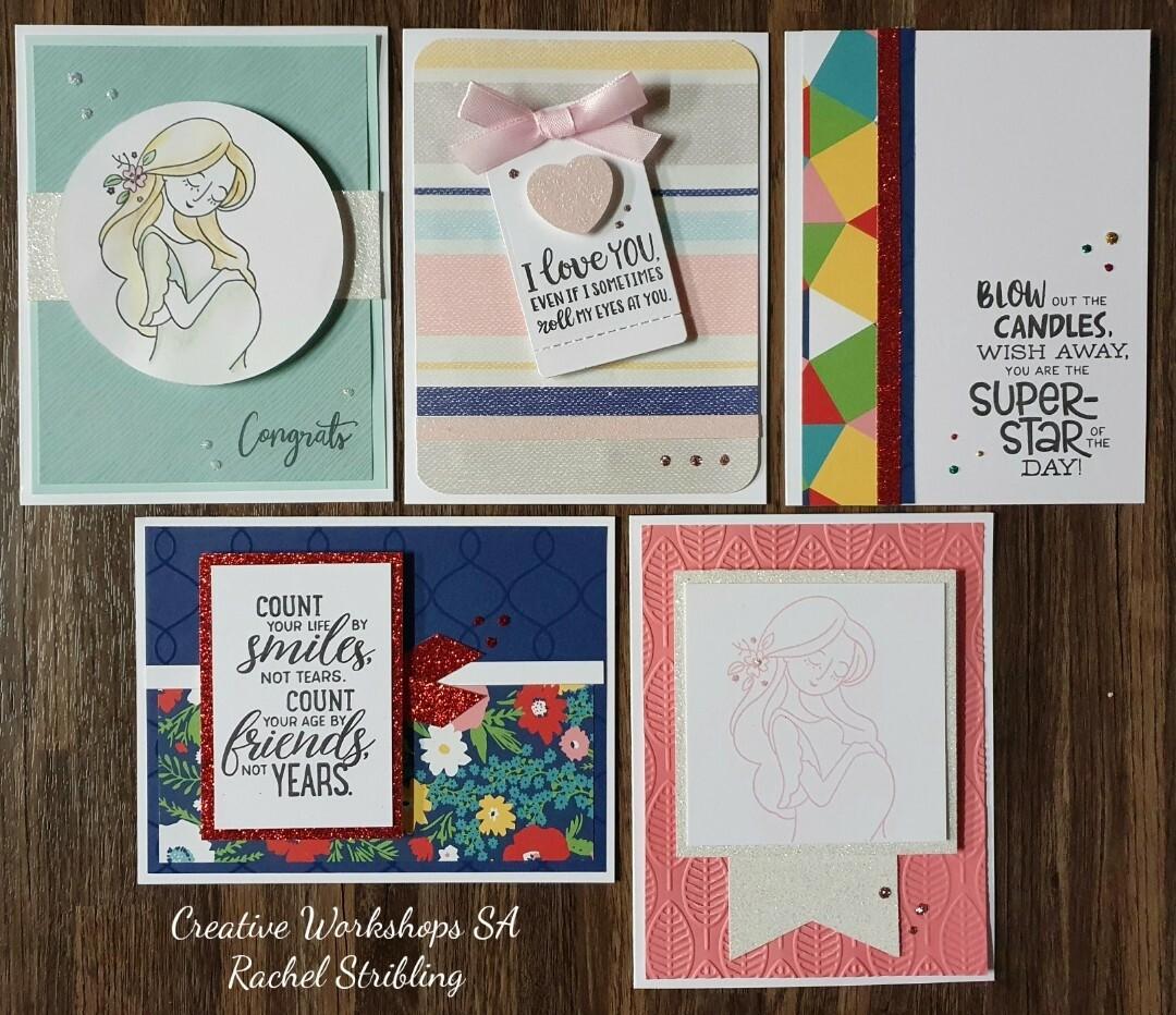 May 5 card takeaway cardmaking kit inc postage