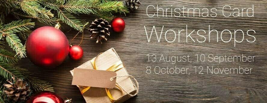 Christmas Card Workshop - Sept 10th 7pm