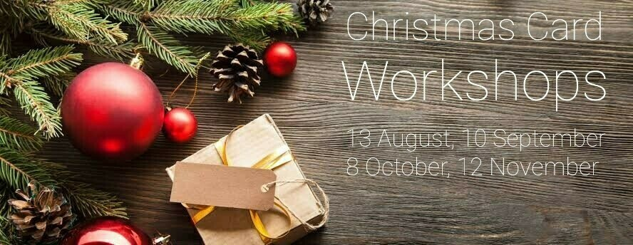 Christmas Card Workshop - October 8th 7pm