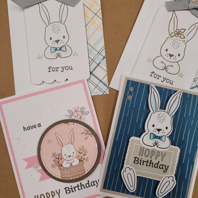 3 Card Workshop April Takeaway kit