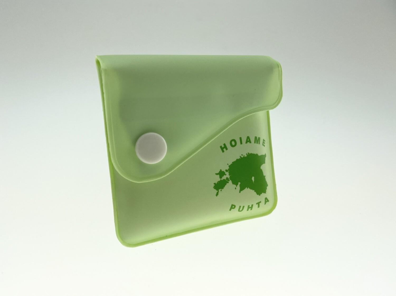 Roheline tasku-tuhatoos 3 tk