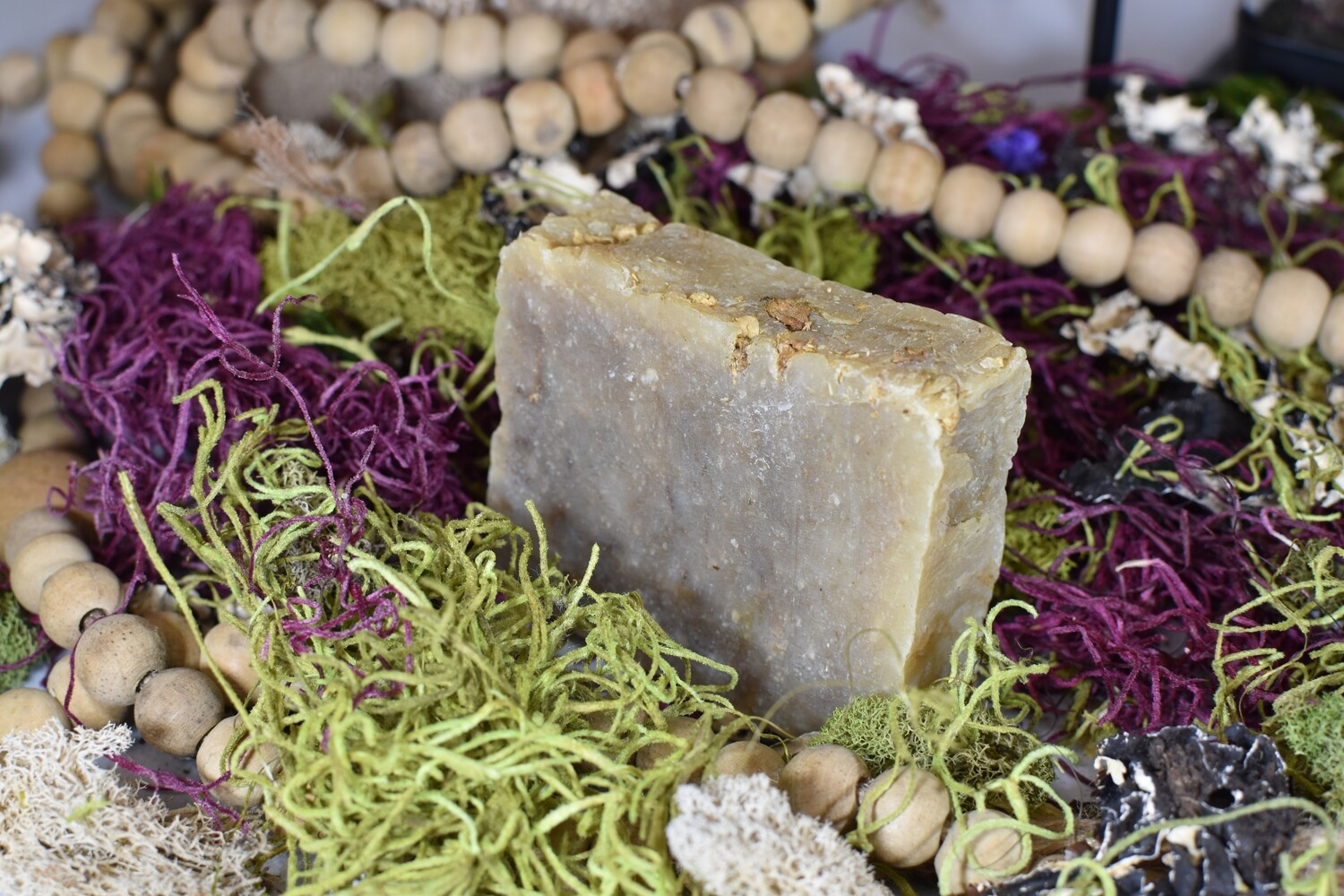 Natural Handmade Artisan Soap - Green Tea Bar