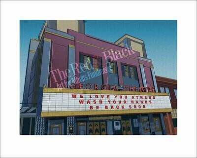 Georgia Theatre Special Edition Signed Artprint