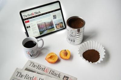 Red and Black Coffee & Mug Set