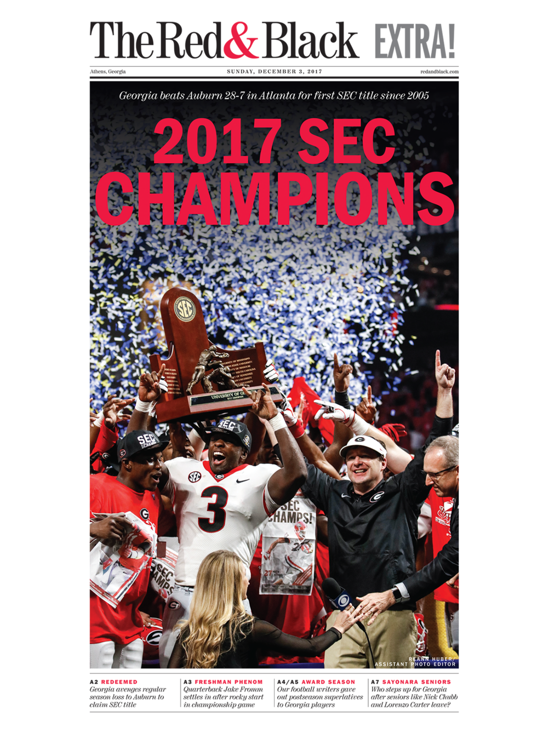 Dec. 3, 2017 Extra Edition Front-Page Poster | Small