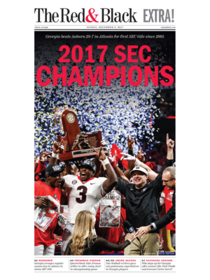 Dec. 3, 2017 Extra Edition Front-Page Poster   Large