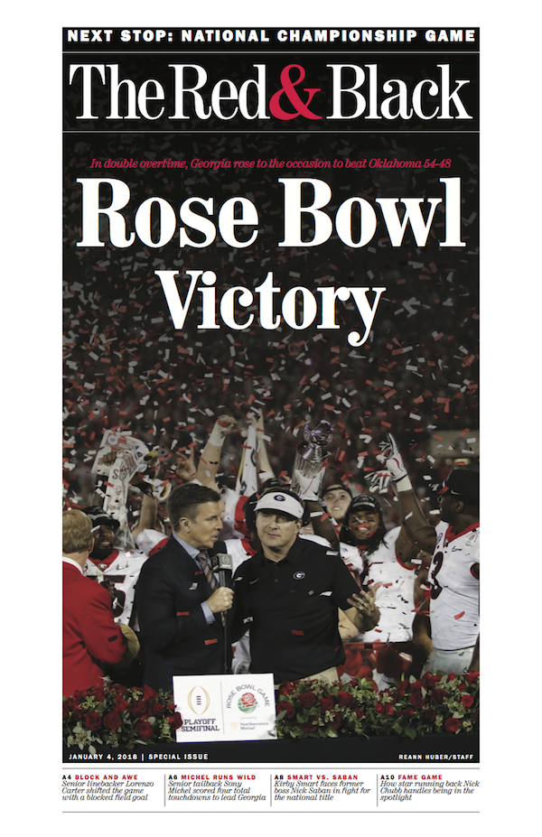 Rose Bowl Special Edition Front-Page Poster   large