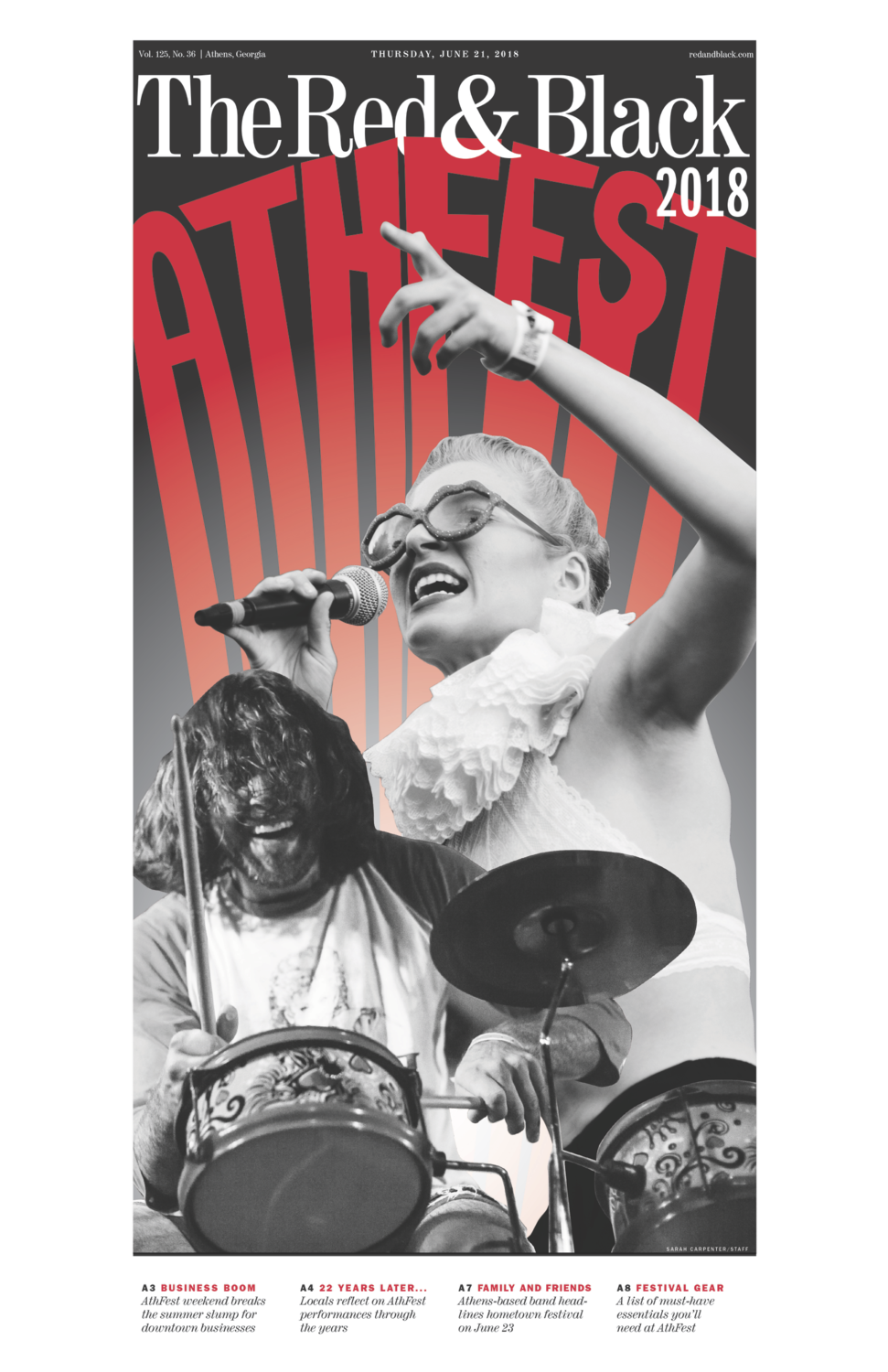 Athfest Edition Front-Page Poster