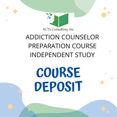 6 month plan. Full course. Deposit only. Course Approval requested.