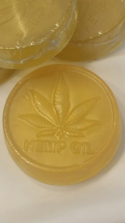 100 mg. Total Plant Hemp Extract & Honey Bath Soap / 3 oz. Bar