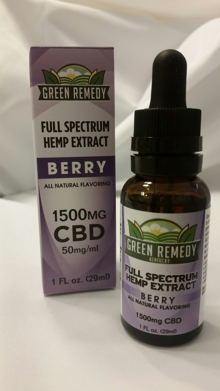 1500 Mg. Berry Extract