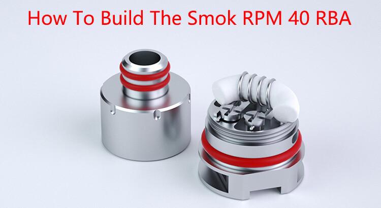 SMOK RPM40 RBA Coil (Sarılabilir Coil)