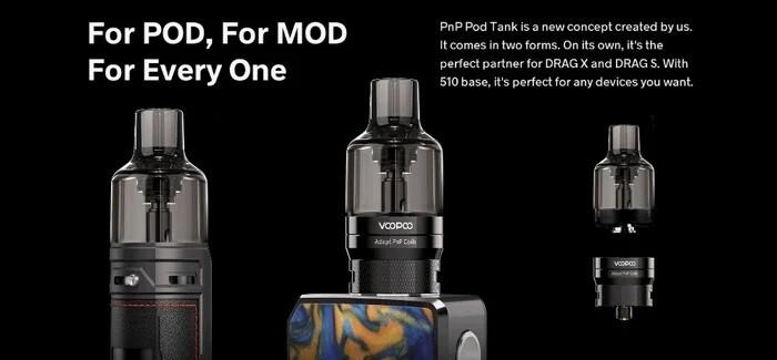VOOPOO PnP Pod Tank Atomizer