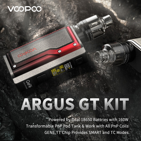 Voopoo ARGUS GT 160W TC Box Mod Kit