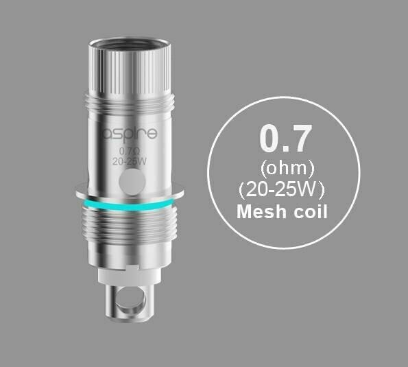 Aspire 0.7ohm BVC Coil (5'li) (%100 Orijinal)