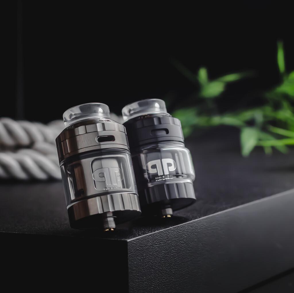 QP Design Juggerknot V2 RTA 28mm Atomizer