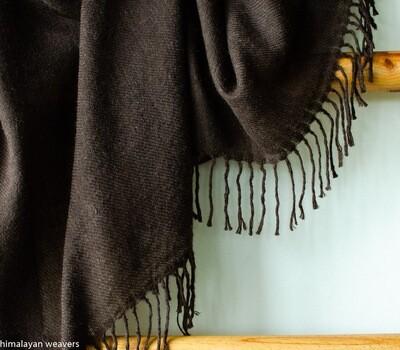 Large Yak Wool Shawl for men