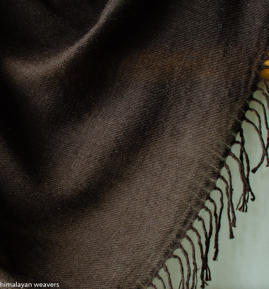 Yak Wool Shawl for women-Handwoven