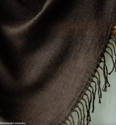 Yak Wool Shawl-Handwoven (standard size)