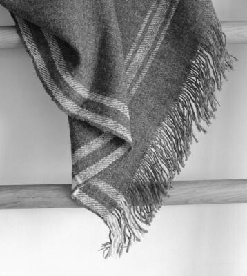 Bhotia Grey Shawls with Himalayan Wool