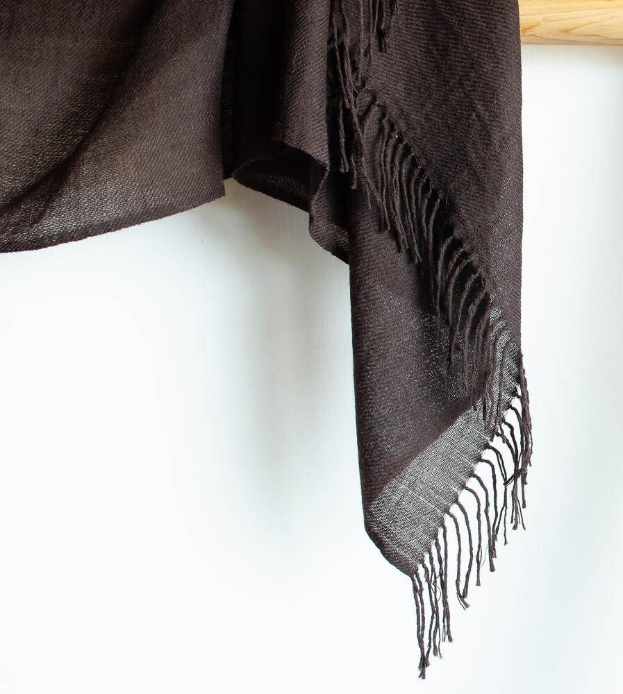 Yak Wool Shawl for Women