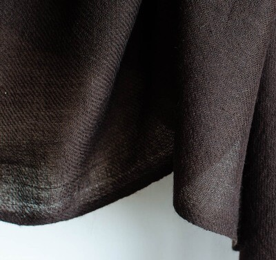 Hand-woven Yak wool stole