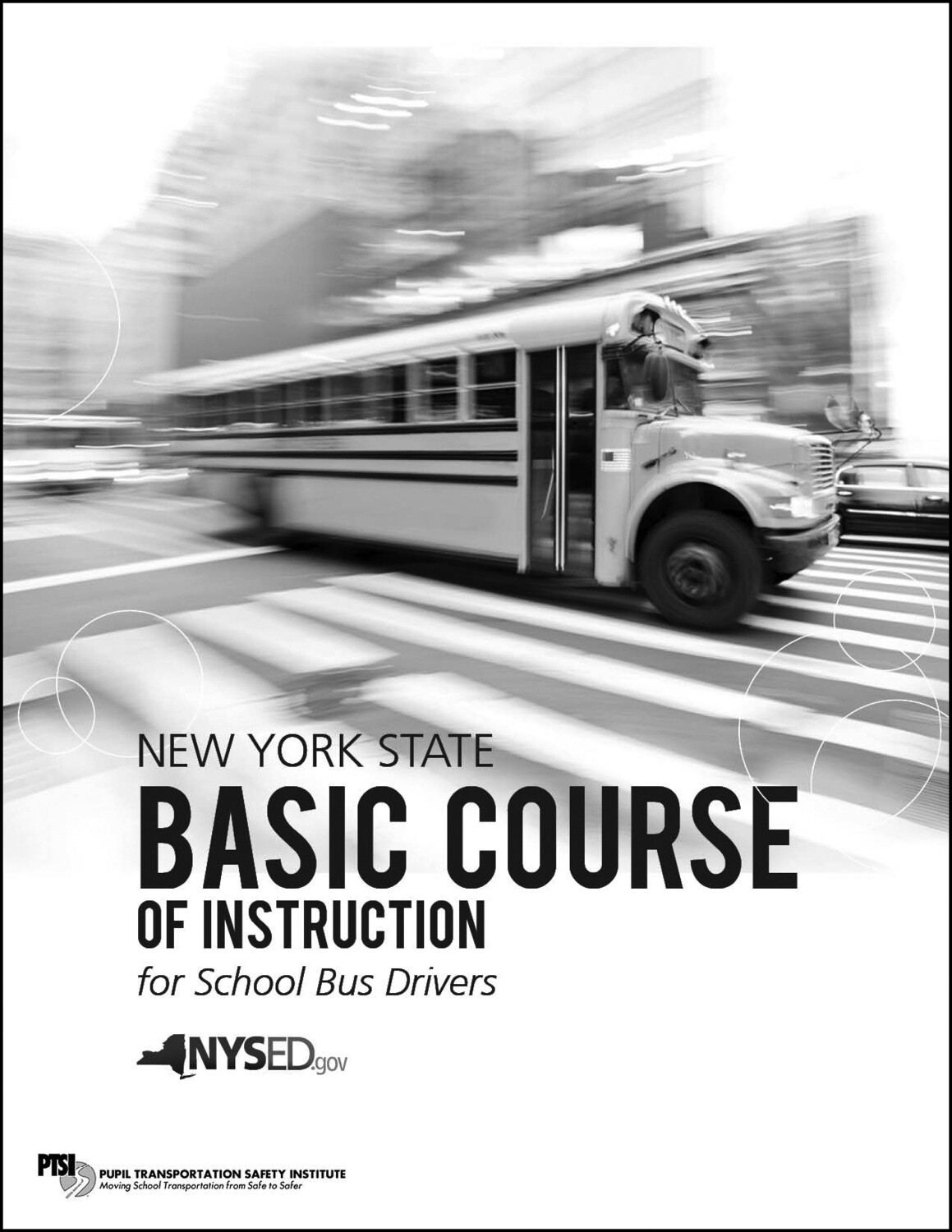 NYS Driver Basic Course for School Bus Drivers Manual