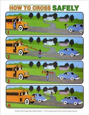 Safe Crossing POSTER (for inside the classroom)