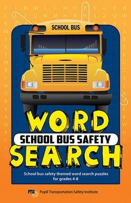 School Bus Safety Word Search Booklet for Grades 4-8