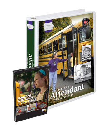 Iowa State Specific School Bus Attendant Training Curriculum Package