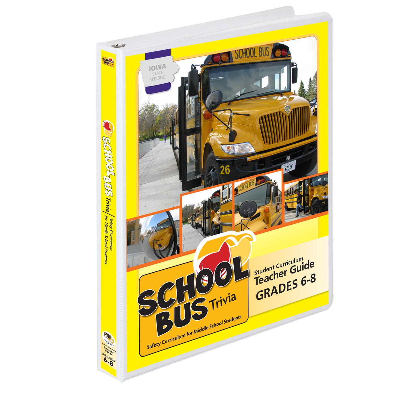 Iowa State Specific Grades 6-8 Student Training Curriculum