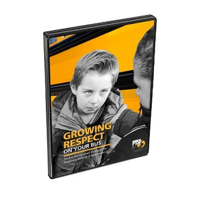 Growing Respect On Your Bus: Student Management Strategies for Preventing Bullying and Harassment on the School Bus (DVD)