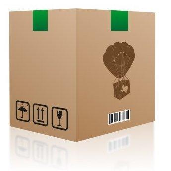 "#5 Caja 18"" x 18"" x 24"" doble pared"
