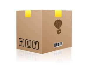 "#1 Caja 12"" x 12"" x 12"" doble pared"
