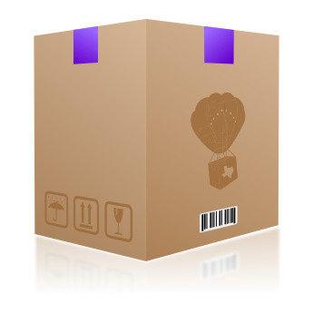 "#6 Caja 18"" x 18"" x 28""  doble pared"