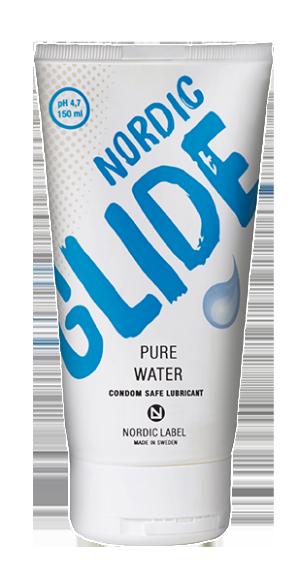 Nordic Glide Pure water Condom safe Lubricant