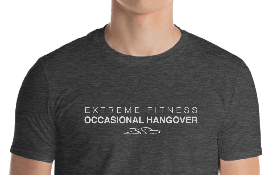 """Men's """"Extreme Fitness Occasional Hangover"""""""