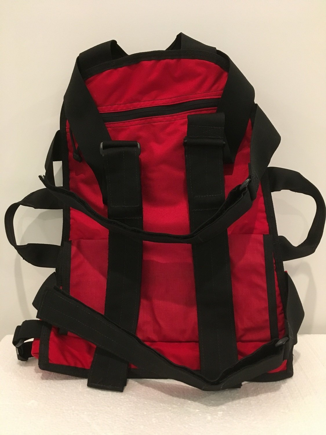 Mantis Backpack System Red and Black - Tax Exempt